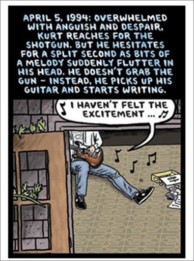 Cobain Humour