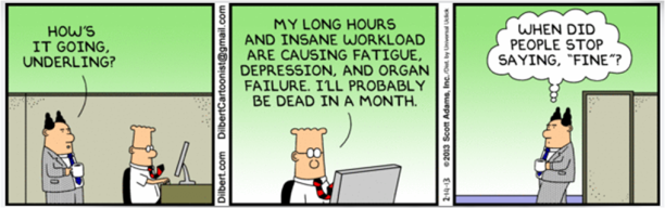Dilbert_Social Pleasantries