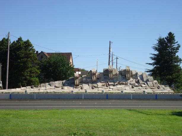 Weatherwax Building, Aberdeen High School Remains