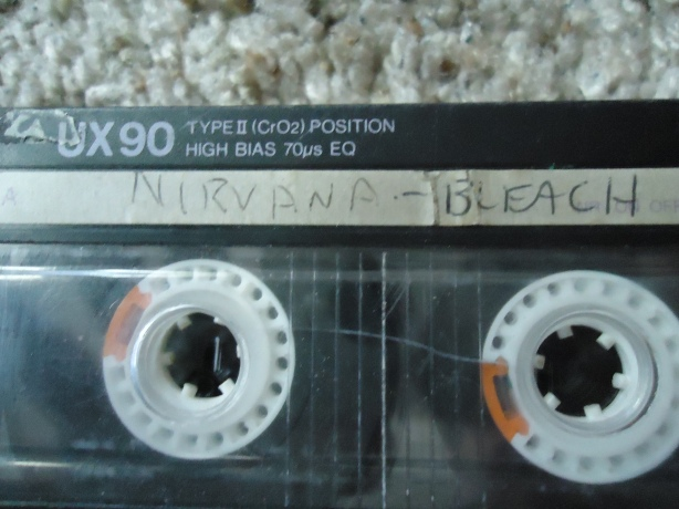 Bleach Tape - Cobains Writing