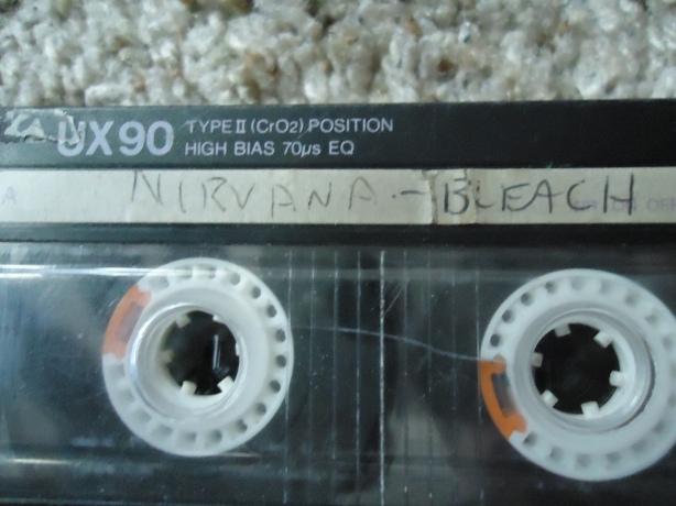 Bleach Tape - Cobains Writing