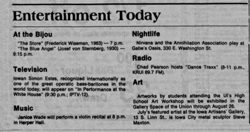 July 5 1989_Iowa City_Daily Iowan